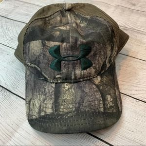 Under Armour Camouflage SnapBack Mesh Baseball Cap